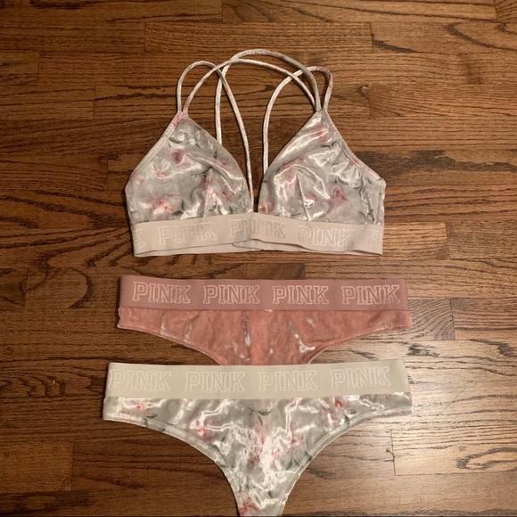 PINK Victoria's Secret Other - PINK velvet mix & match set bundle